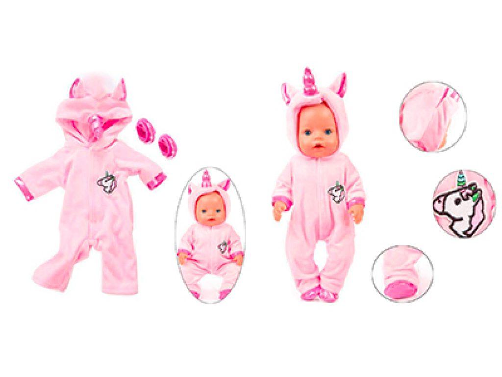 pijama muñeco unicornio