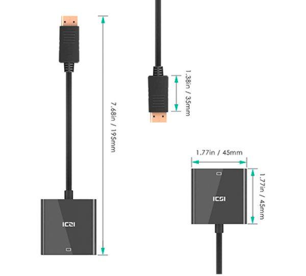 DP a VGA Adaptador