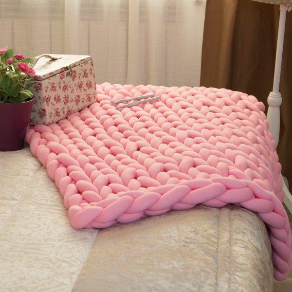 Manta Maxi Cotton Rosa