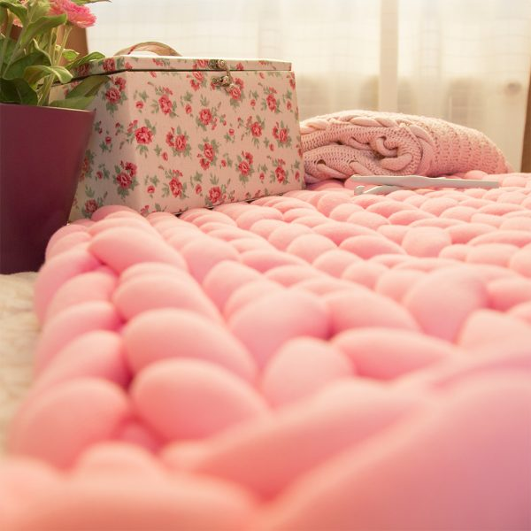 Manta Rosa Maxi Cotton