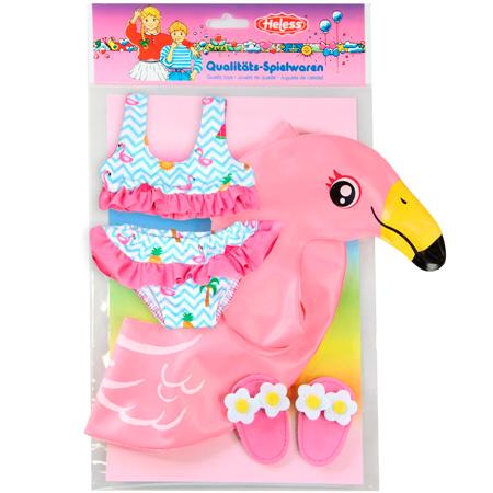 Flotador flamenco rosa para baby born