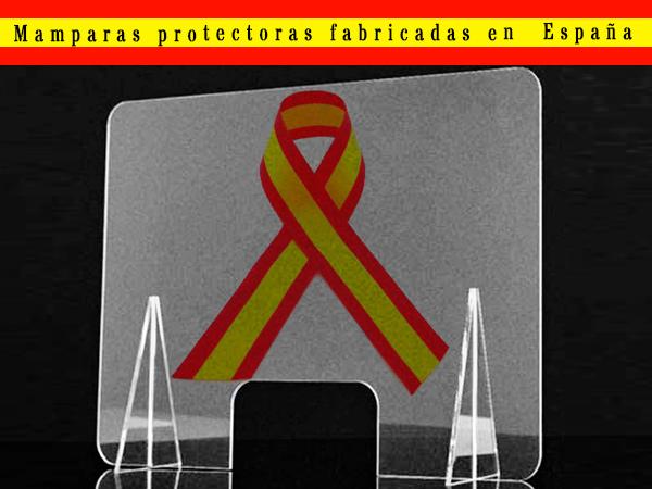Mamparas protectoras de metacrilato fabricadas en España