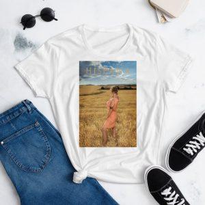 "Camiseta de manga corta para mujer  ""HISPANA"""